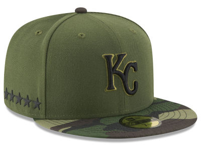 Kansas City Royals New Era 2017 MLB Youth Memorial Day 59FIFTY Cap