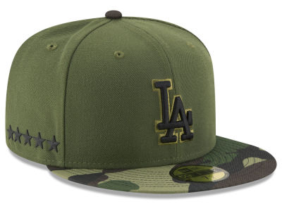 Los Angeles Dodgers New Era 2017 MLB Youth Memorial Day 59FIFTY Cap