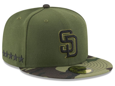 San Diego Padres New Era 2017 MLB Youth Memorial Day 59FIFTY Cap