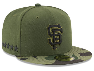 San Francisco Giants New Era 2017 MLB Youth Memorial Day 59FIFTY Cap