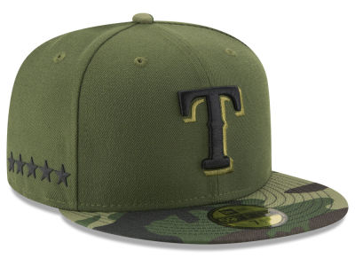Texas Rangers New Era 2017 MLB Youth Memorial Day 59FIFTY Cap