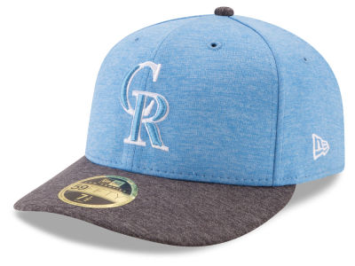 Colorado Rockies New Era 2017 MLB Low Profile Father's Day 59FIFTY Cap