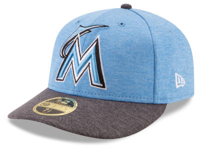 Miami Marlins New Era 2017 MLB Low Profile Father's Day 59FIFTY Cap