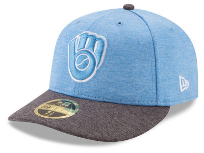 Milwaukee Brewers New Era 2017 MLB Low Profile Father's Day 59FIFTY Cap