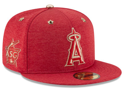 Los Angeles Angels New Era 2017 MLB Youth All-Star Game Patch 59FIFTY Cap