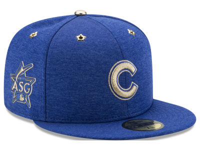 Chicago Cubs New Era 2017 MLB Youth All-Star Game Patch 59FIFTY Cap