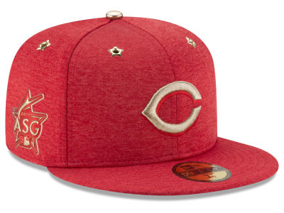 Cincinnati Reds New Era 2017 MLB Youth All-Star Game Patch 59FIFTY Cap
