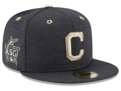 Cleveland Indians New Era 2017 MLB Youth All-Star Game Patch 59FIFTY Cap