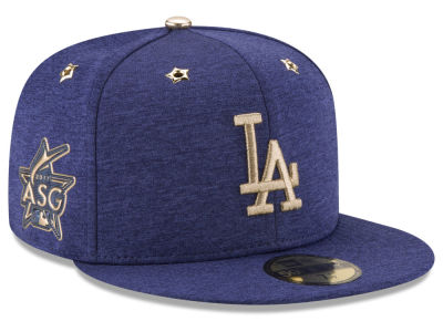 Los Angeles Dodgers New Era 2017 MLB Youth All-Star Game Patch 59FIFTY Cap