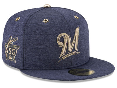 Milwaukee Brewers New Era 2017 MLB Youth All-Star Game Patch 59FIFTY Cap