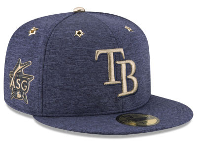 Tampa Bay Rays New Era 2017 MLB Youth All-Star Game Patch 59FIFTY Cap