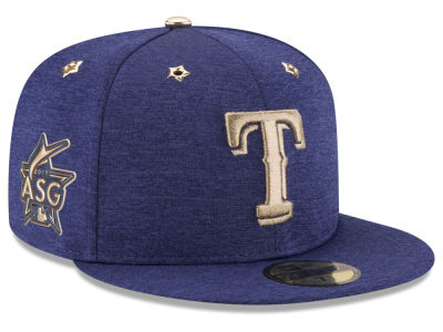 Texas Rangers New Era 2017 MLB Youth All-Star Game Patch 59FIFTY Cap