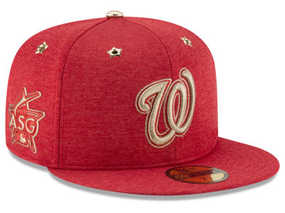 Washington Nationals New Era 2017 MLB Youth All-Star Game Patch 59FIFTY Cap
