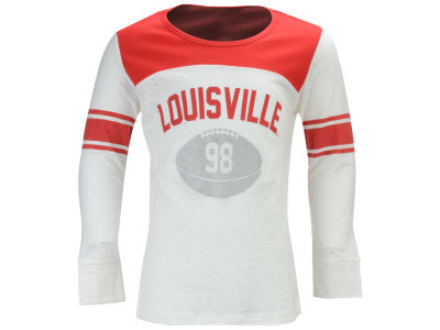Louisville Cardinals NCAA Girls Janice Long Sleeve T-Shirt