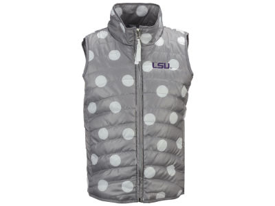 LSU Tigers NCAA Girls Alexandra Quilted Vest