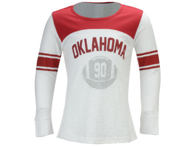 Oklahoma Sooners NCAA Girls Janice Long Sleeve T-Shirt