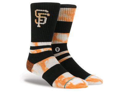 San Francisco Giants Stance MLB Tye Dye Crew Socks