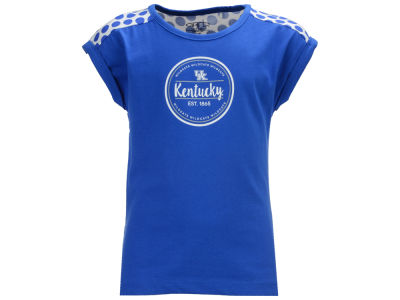 Kentucky Wildcats Garb NCAA Toddler Girls Megan Polka Dot Dress