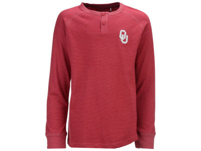 Oklahoma Sooners Garb NCAA Toddler Hunter Long Sleeve Henley