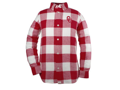 Oklahoma Sooners Garb NCAA Youth Nicolas Button Up