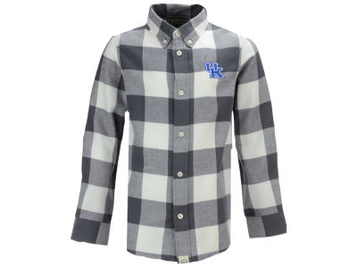 Kentucky Wildcats Garb NCAA Youth Nicolas Button Up