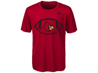 Louisville Cardinals adidas NCAA Youth Sideline Pigskin T-Shirt
