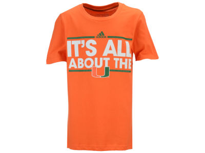 Miami Hurricanes adidas NCAA Youth Dassler Local T-Shirt