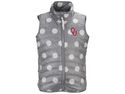 Oklahoma Sooners Garb NCAA Girls Alexandra Quilted Vest