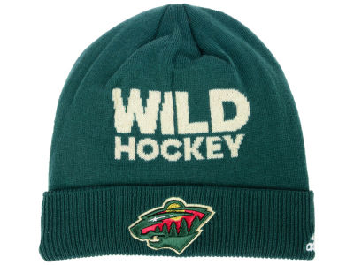 Minnesota Wild adidas 2017 NHL Player Knit