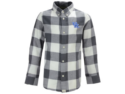 Kentucky Wildcats NCAA Toddler Nicolas Toddler Flannel Button Up