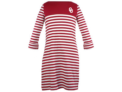 Oklahoma Sooners Garb NCAA Toddler Girls Kristen Striped Dress