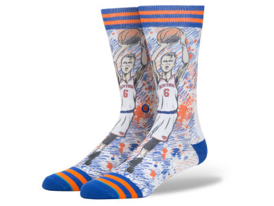 New York Knicks Kristaps Porzingis Stance NBA Todd Francis Collection