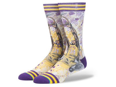 Los Angeles Lakers Stance NBA Todd Francis Collection