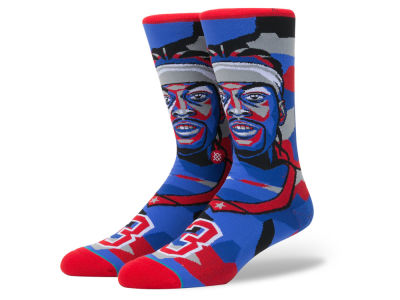 Philadelphia 76ers Allen Iverson Stance NBA Mosaic Collection