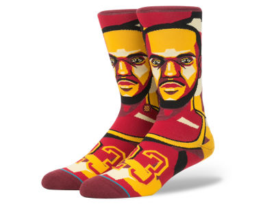 Cleveland Cavaliers LeBron James Stance NBA Mosaic Collection