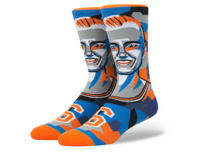 New York Knicks Kristaps Porzingis Stance NBA Mosaic Collection