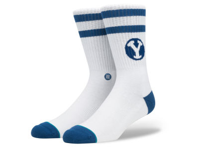 Brigham Young Cougars Stance NCAA Double Stripe Socks