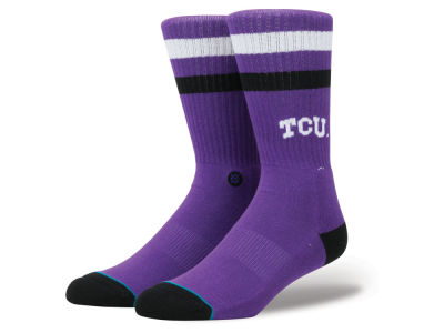 Texas Christian Horned Frogs Stance NCAA Team Logo Sock