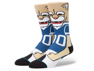 Brigham Young Cougars Stance NCAA Mascot Sock