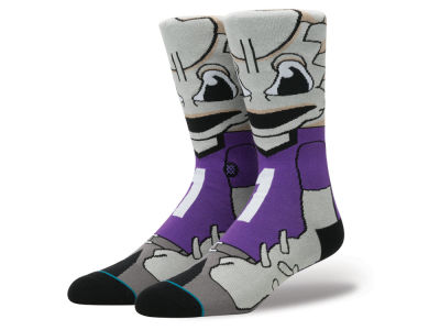 Texas Christian Horned Frogs Stance NCAA Mascot Sock