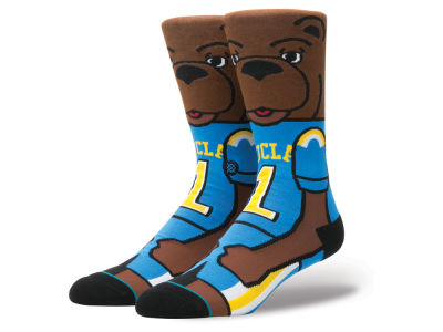 UCLA Bruins Stance NCAA Mascot Sock