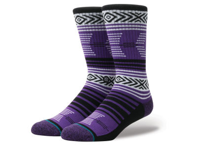 Texas Christian Horned Frogs Stance NCAA Mazed Sock