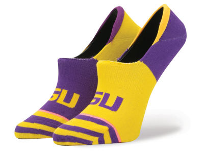 LSU Tigers Stance NCAA Women's No Show Socks