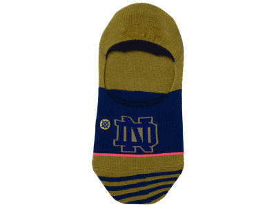 Notre Dame Fighting Irish Stance NCAA Women's No Show Socks