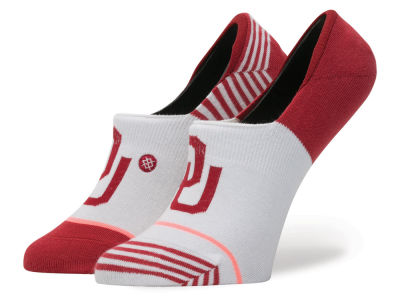 Oklahoma Sooners Stance NCAA Women's No Show Socks