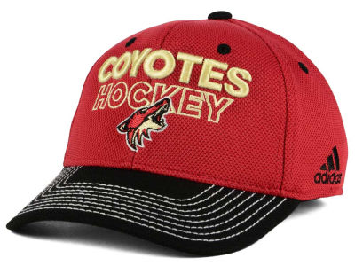 Arizona Coyotes adidas NHL Locker Room Structured Flex Cap