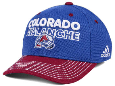 Colorado Avalanche adidas NHL Locker Room Structured Flex Cap