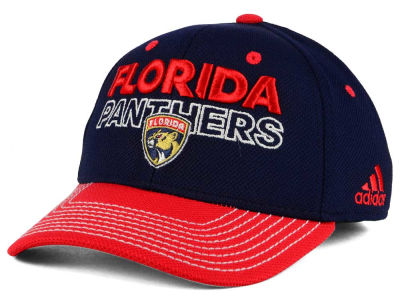 Florida Panthers adidas NHL Locker Room Structured Flex Cap