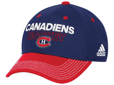 Montreal Canadiens adidas NHL Locker Room Structured Flex Cap