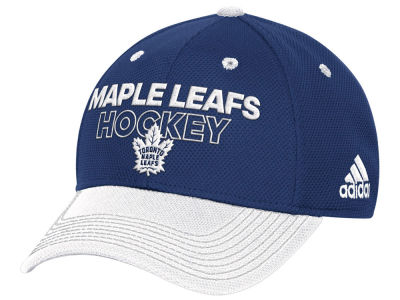 Toronto Maple Leafs adidas NHL Locker Room Structured Flex Cap
